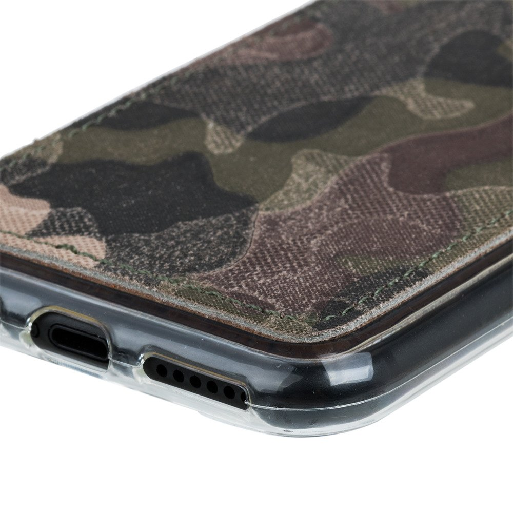 Back case - Military Camouflage Green
