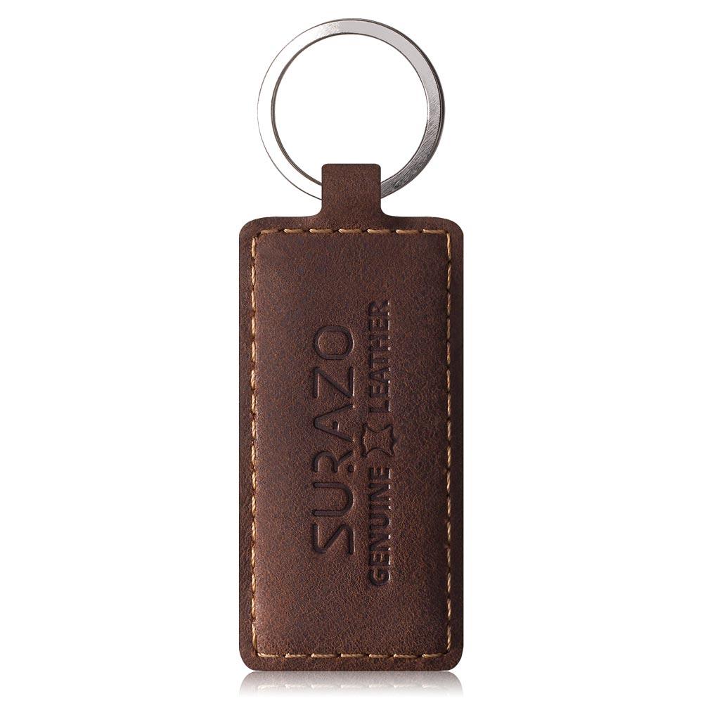 Back case - Nubuck Nut brown