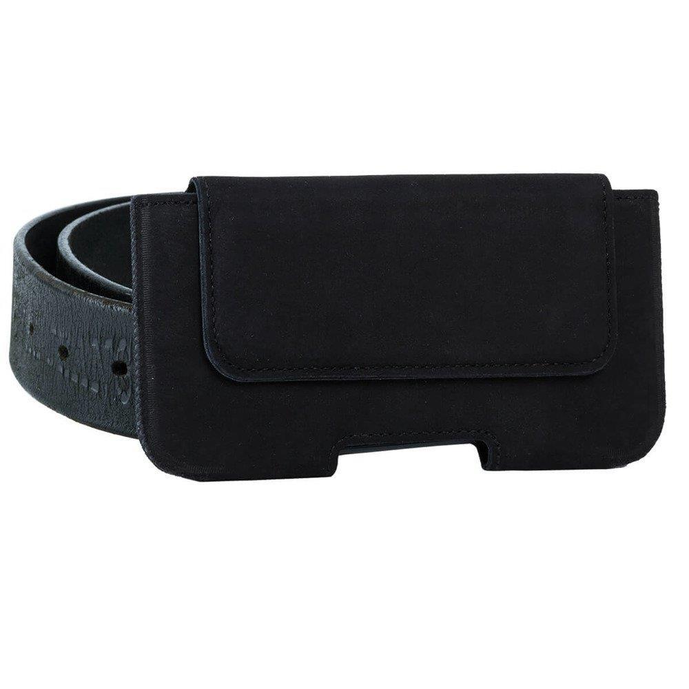 Belt case - Nubuck Black