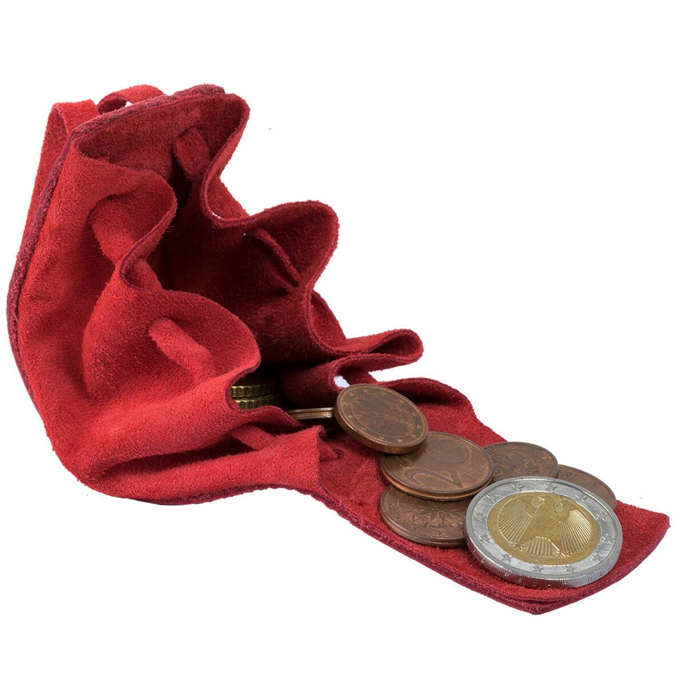 Coin Pouch - Costa Red