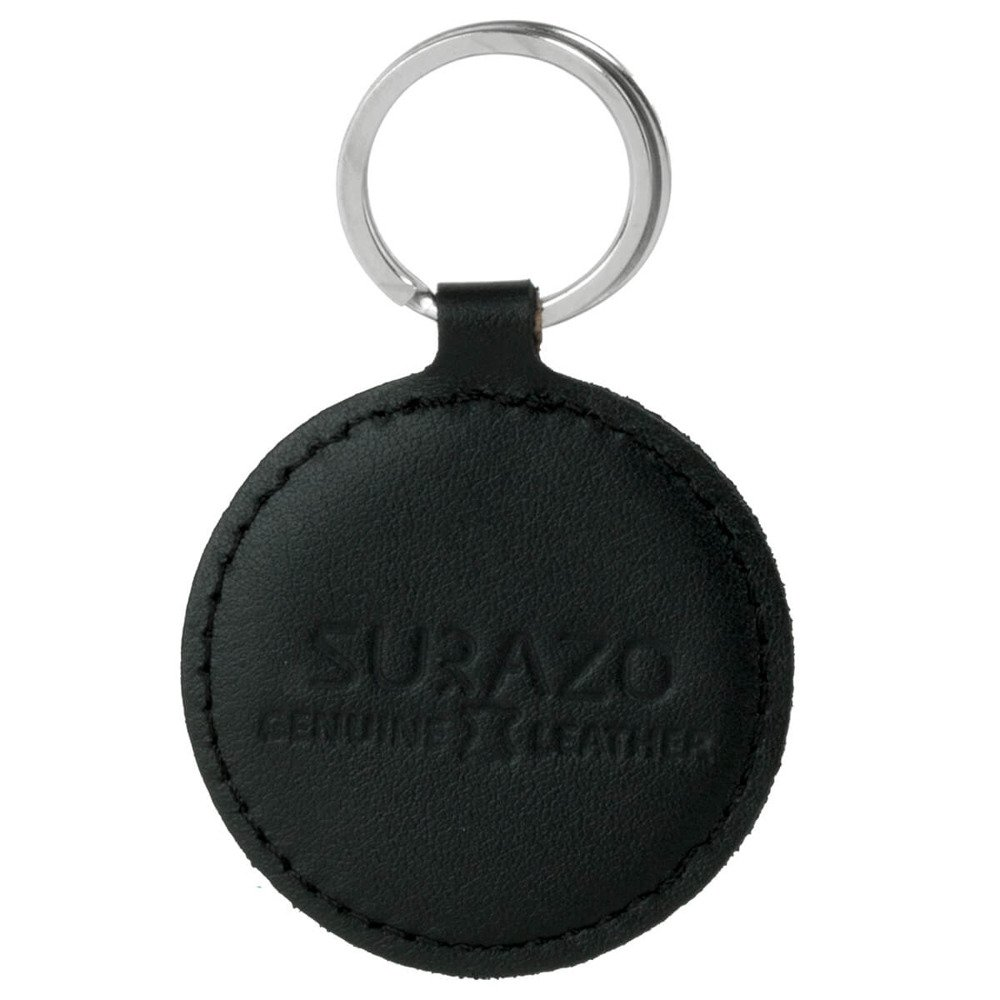 Keychain - Costa Black - Two Paws Red