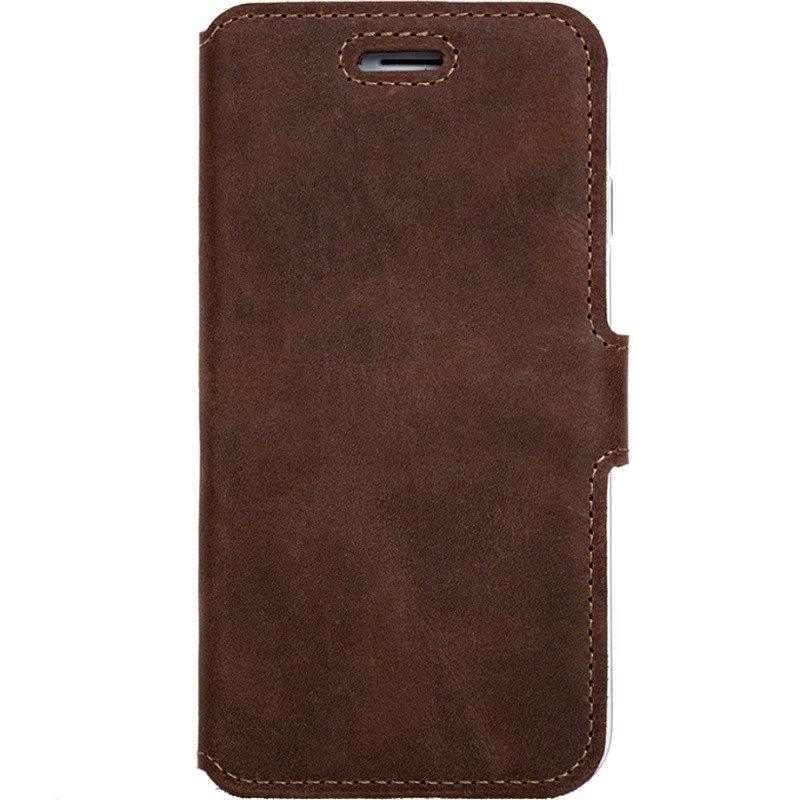 Slim cover - Nubuck Nut brown