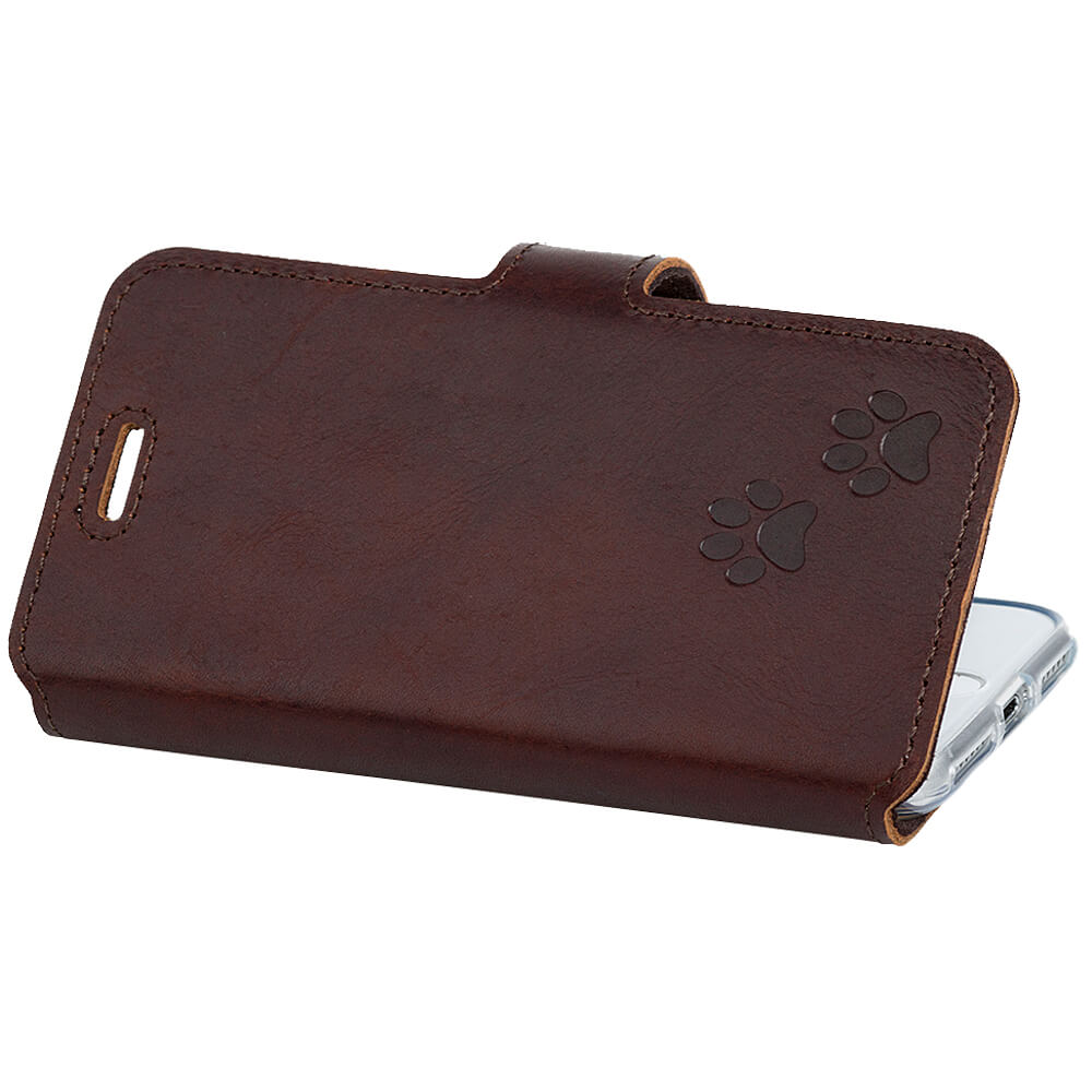Slim cover - Western Dark brown - Two paws