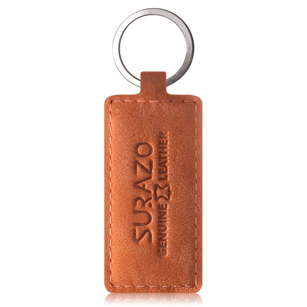 Smart magnet RFID - Nubuk Dark Orange