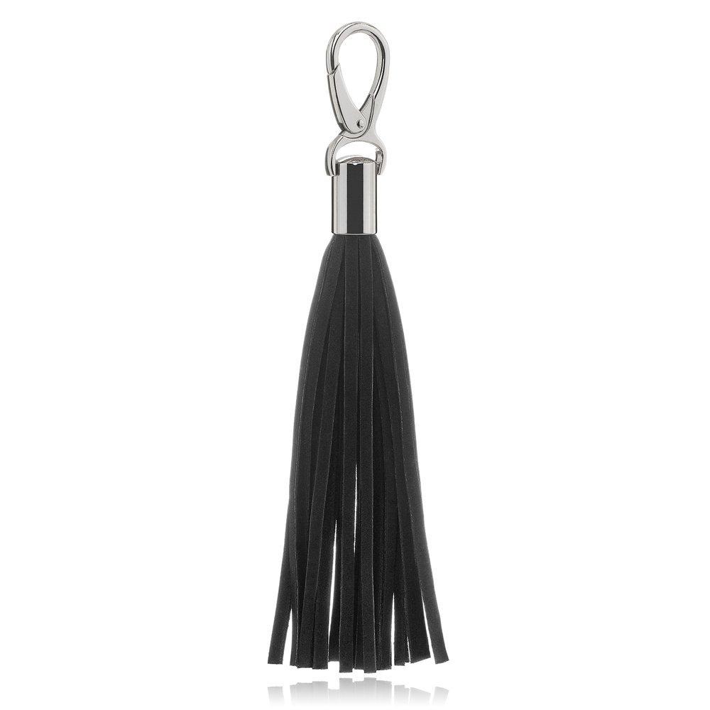 Tassel Purse pendant - Black
