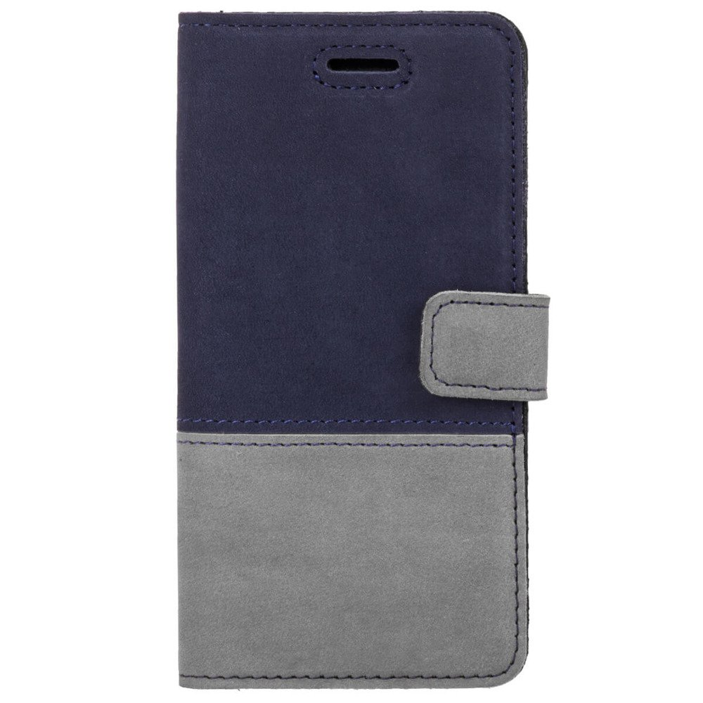 Wallet case Duo - Navy blue and Gray