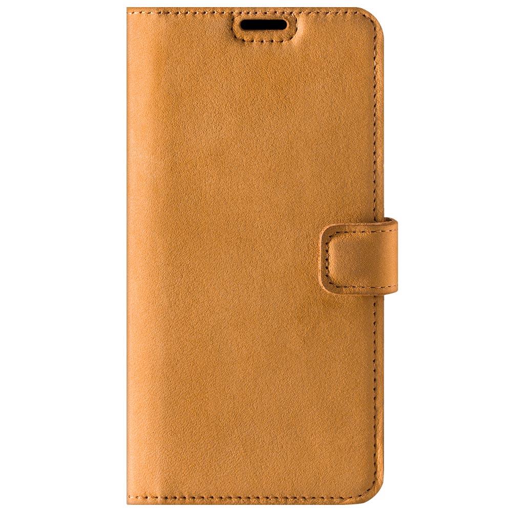Wallet case - Nubuck Camel