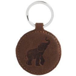 Keychain - Nut Brown - Elephant