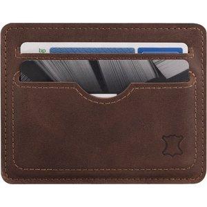 Slim Card Wallet - Nut Brown